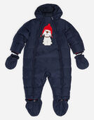 PADDED NYLON ONESIE WITH PATCH