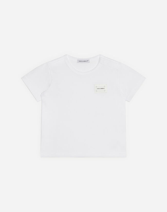 Dolce&Gabbana COTTON T-SHIRT WITH LOGO