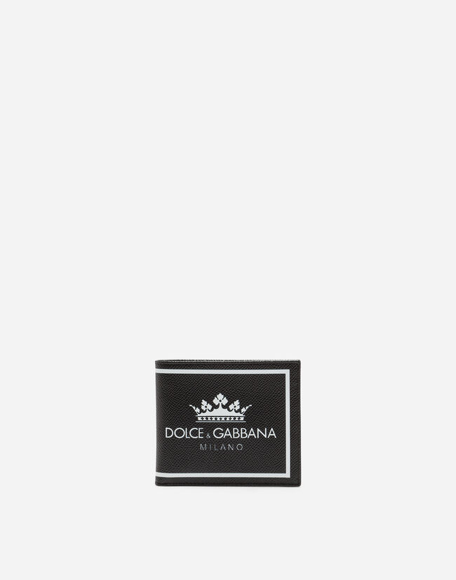 Dolce&Gabbana PRINTED DAUPHINE CALFSKIN WALLET