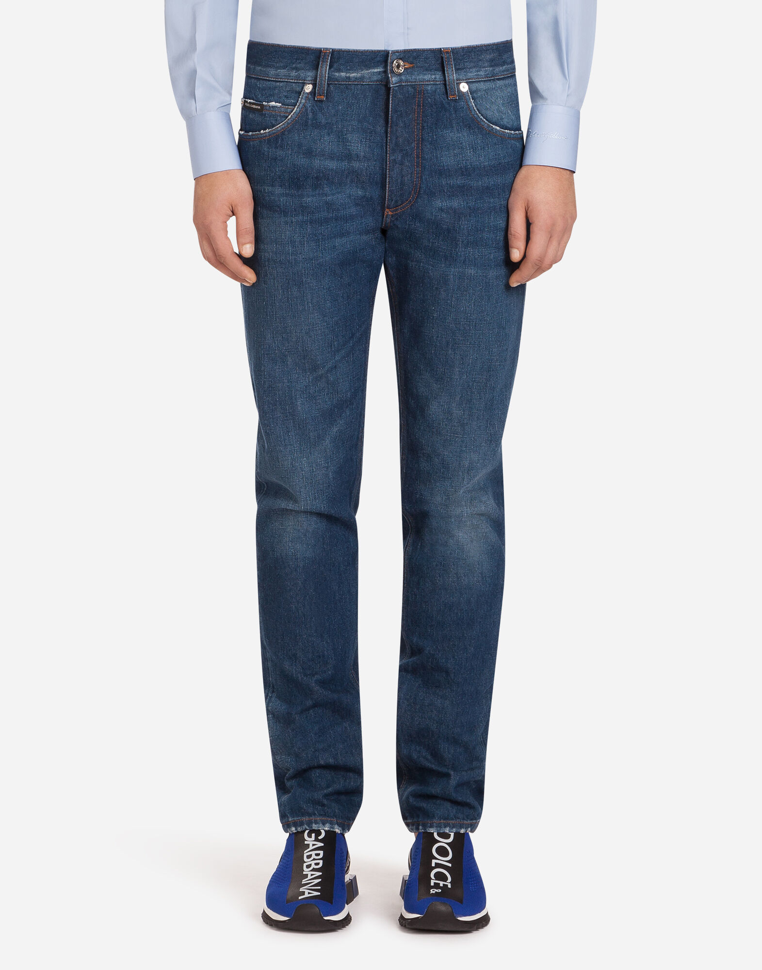 DENIM - Denim trousers Dolce & Gabbana