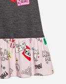 Dolce&Gabbana PRINTED COTTON DRESS