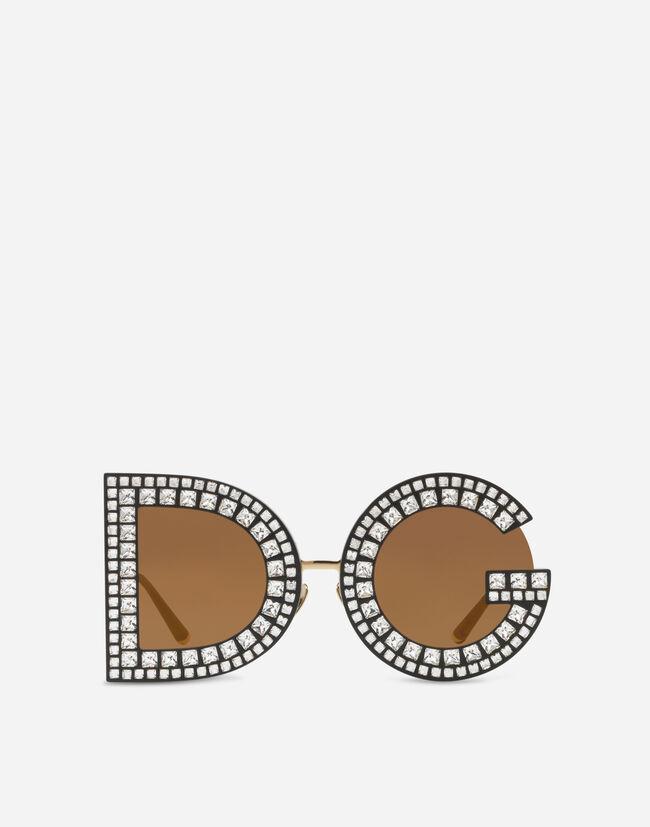 b2e462f03e475e Lunettes de Soleil Femme   Dolce Gabbana - LUNETTES DE SOLEIL DG À ...