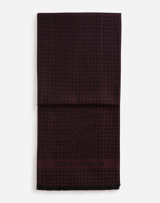 Dolce&Gabbana SCARF IN CASHMERE AND WOOL