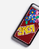 IPHONE 7 PLUS COVER IN PRINTED PATENT LEATHER