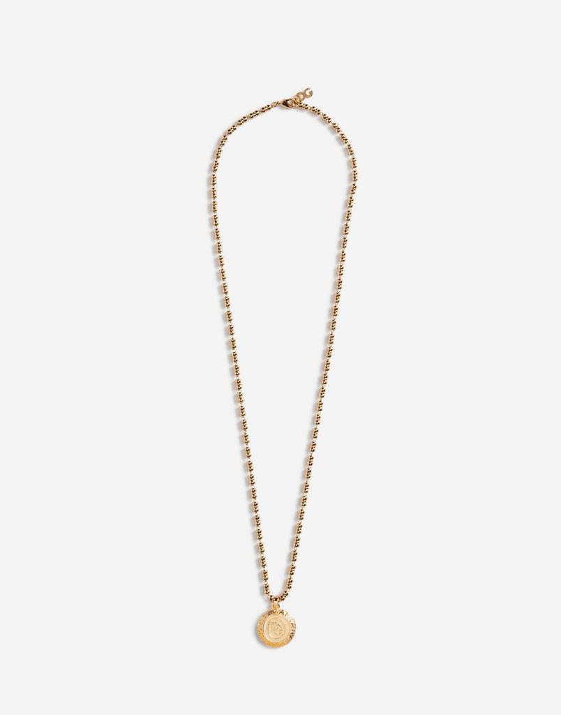 Dolce&Gabbana NECKLACE WITH DG PENDANT