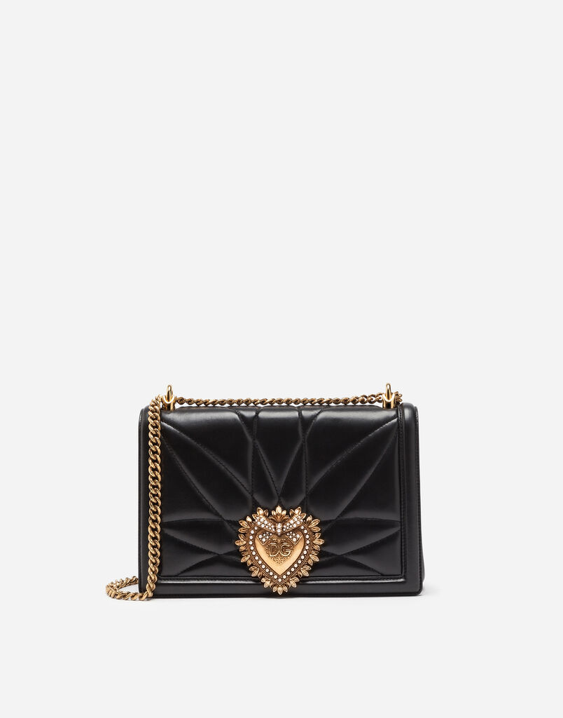 Large Devotion Bag In Quilted Na Leather