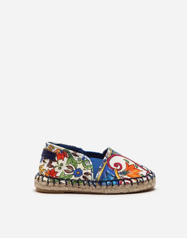 ESPADRILLES IN PRINTED CANVAS