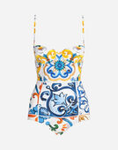 Dolce & Gabbana BALCONETTE ONE-PIECE SWIMSUIT