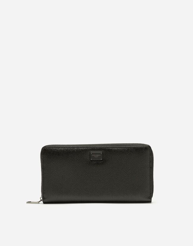 DAUPHINE CALFSKIN ZIP-AROUND WALLET