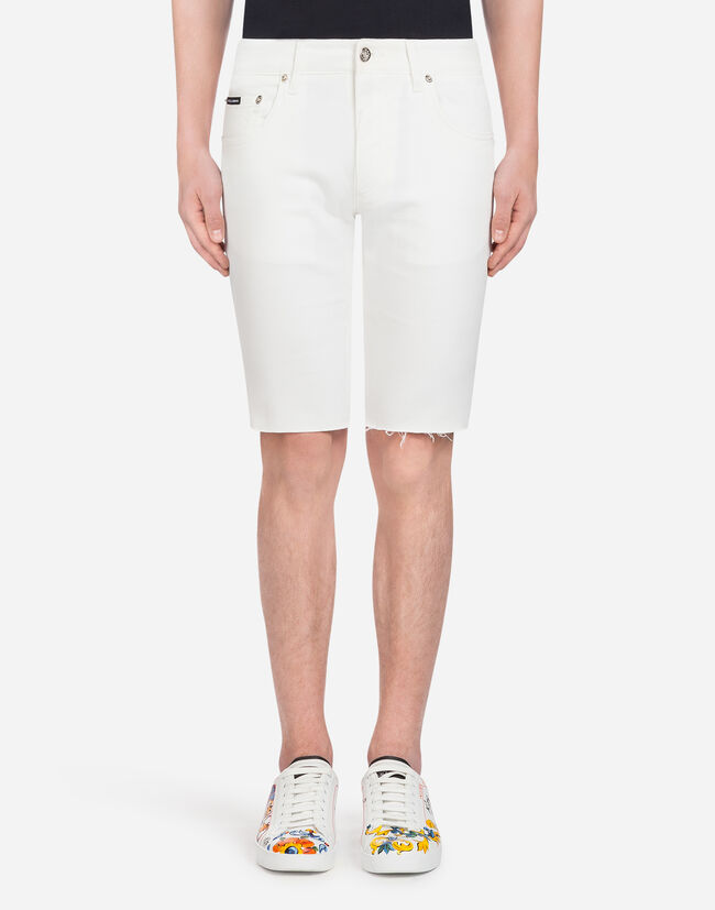 Dolce&Gabbana STRETCH DENIM BERMUDA SHORTS
