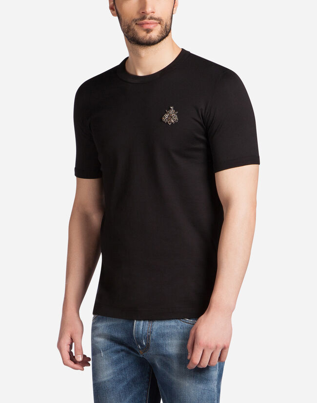 T-SHIRT IN COTTON WITH PATCH