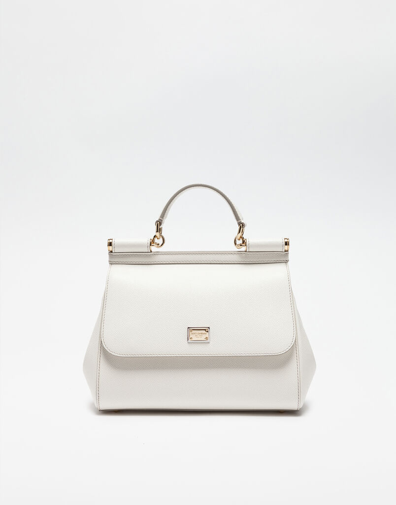 MEDIUM SICILY HANDBAG IN DAUPHINE LEATHER