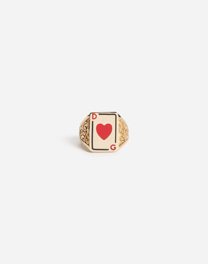RING WITH HEART