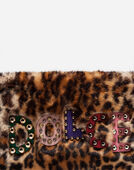 BAG IN LEOPARD PRINT FAUX FUR