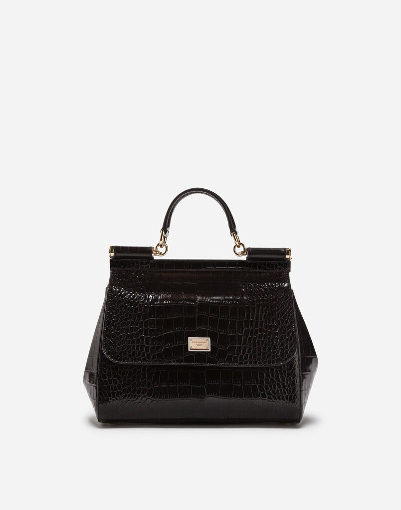 SICILY BAG IN CROCODILE