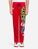 Dolce&Gabbana JOGGING PANTS WITH PATCHES