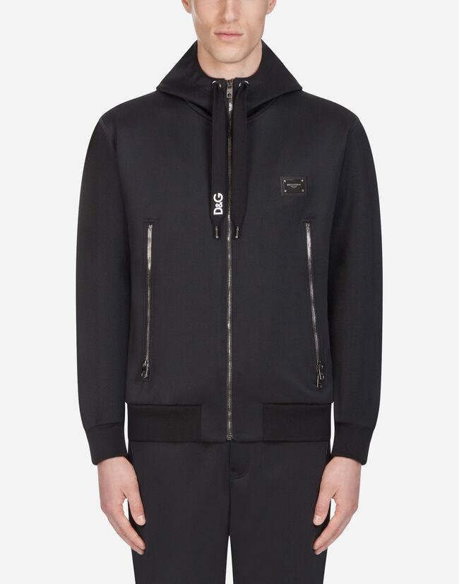 Sweatshirts Homme   Dolce Gabbana - SWEAT-SHIRT À CAPUCHE ET ... 49b07d83d28c
