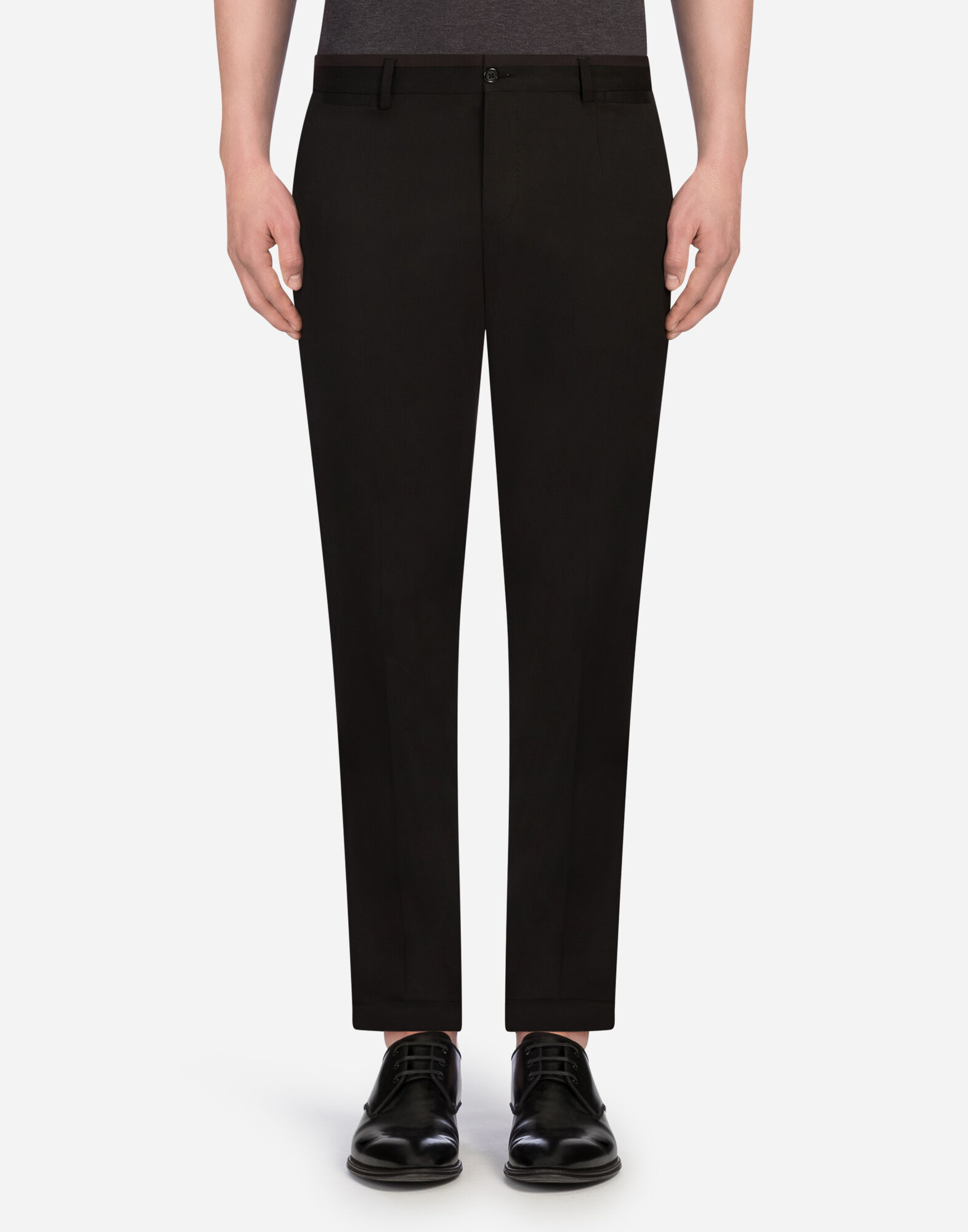 SPORTY PANTS IN COTTON from DOLCE & GABBANA