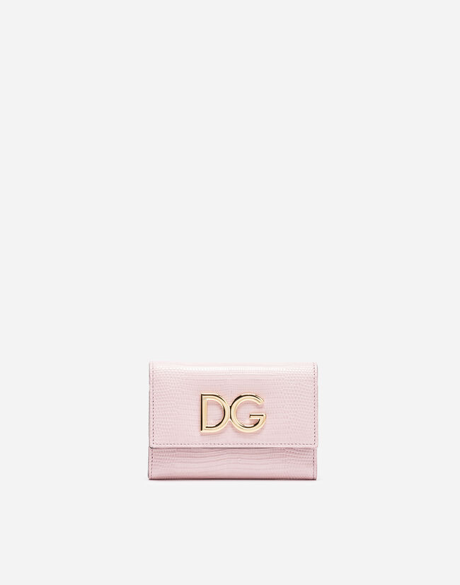 Dolce&Gabbana SMALL CONTINENTAL LEATHER WALLET
