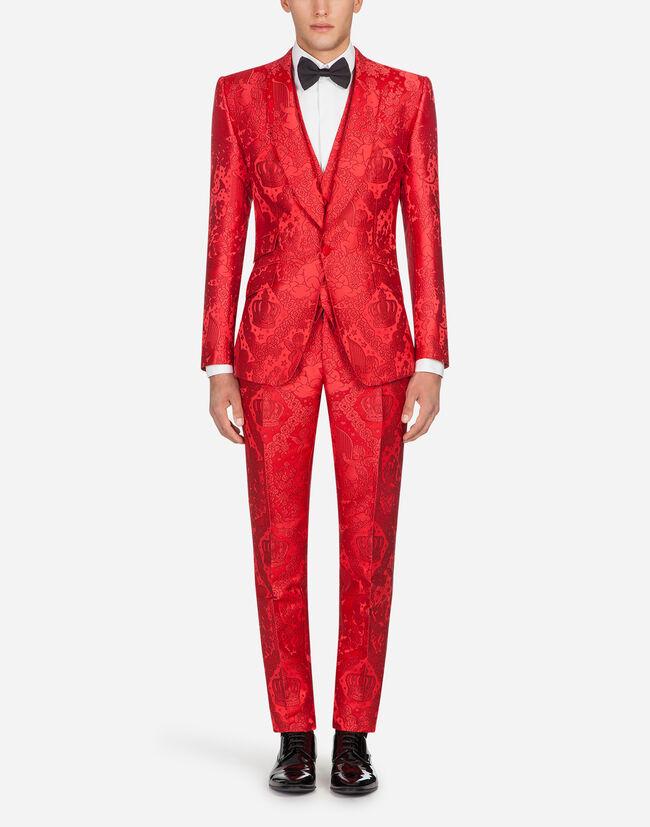 Dolce&Gabbana SICILIA JACQUARD SUIT