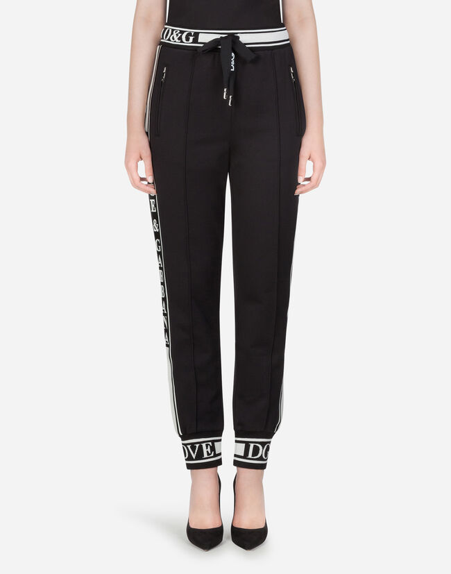 Dolce & Gabbana COTTON JOGGING PANTS