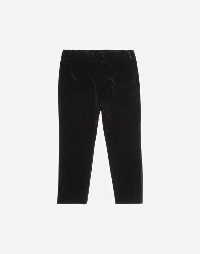 STRETCH VELVET PANTS