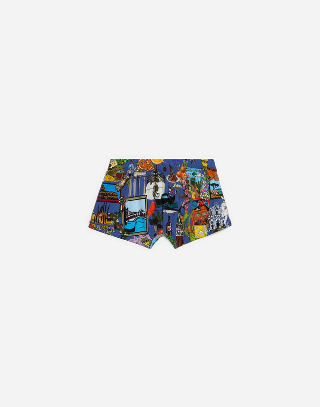 Dolce & Gabbana PRINTED SWIMMING TRUNKS