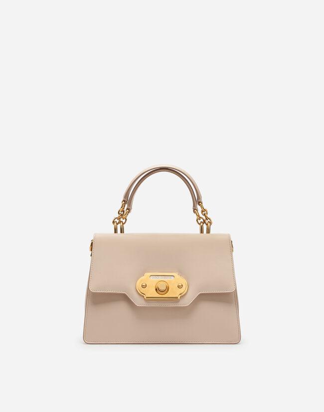7b8fa2fd38a Calfskin Welcome Shoulder Bag - Women s   Dolce Gabbana