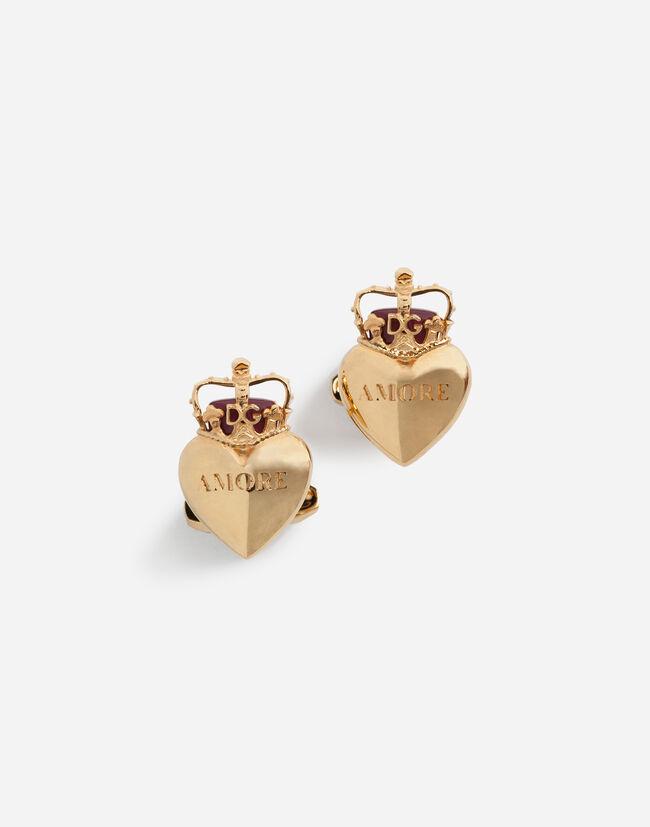 Dolce&Gabbana HEART CUFFLINKS