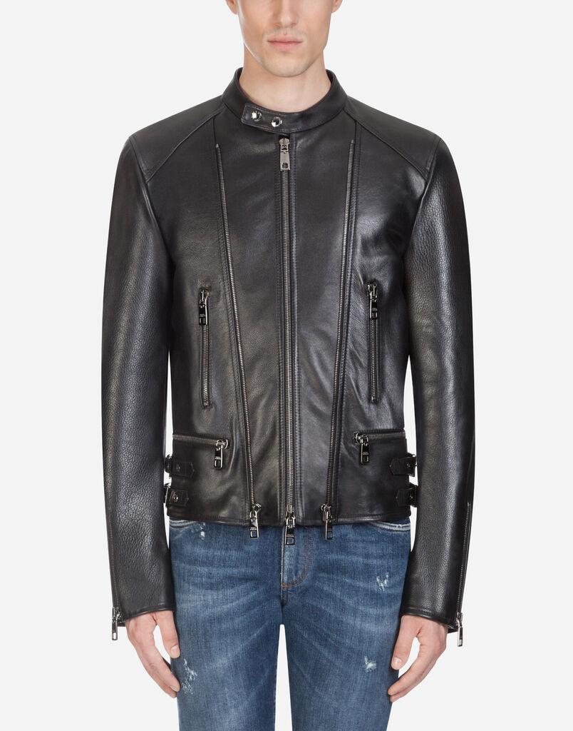Vestes et Blousons en cuir Homme   Dolce Gabbana 00278faeca81
