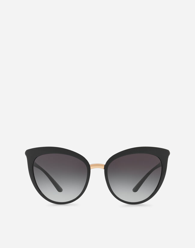 Dolce&Gabbana CAT-EYE SUNGLASSES IN NYLON FIBER