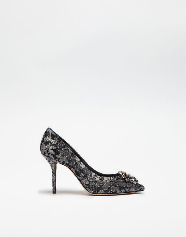 Pump In Taormina Lace With Crystals - Women  fe31705943c