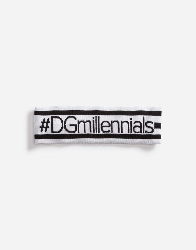 Dolce&Gabbana DGMILLENNIALS WOOL HEADBAND