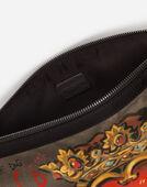 Dolce&Gabbana PRINTED NYLON DOCUMENT HOLDER
