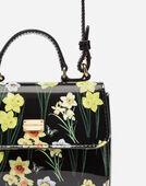 Dolce&Gabbana PATENT LEATHER HANDBAG