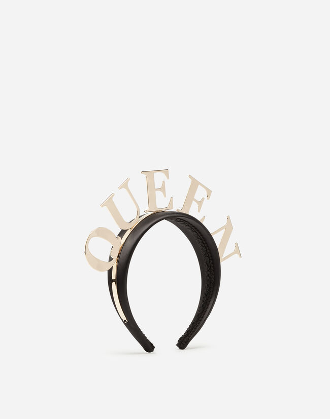 HAIRBAND WITH QUEEN LETTERING