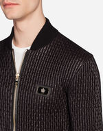 BOMBER IN QUILTED NYLON