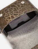 MINI DG MILLENNIALS BAG IN LEOPARD-PRINT LUREX JACQUARD