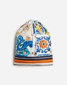 Dolce & Gabbana LONG PRINTED SWIMMING TRUNKS