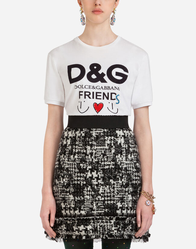 821d5eb76 Cotton T-Shirt - Women's Apparel | Dolce&Gabbana