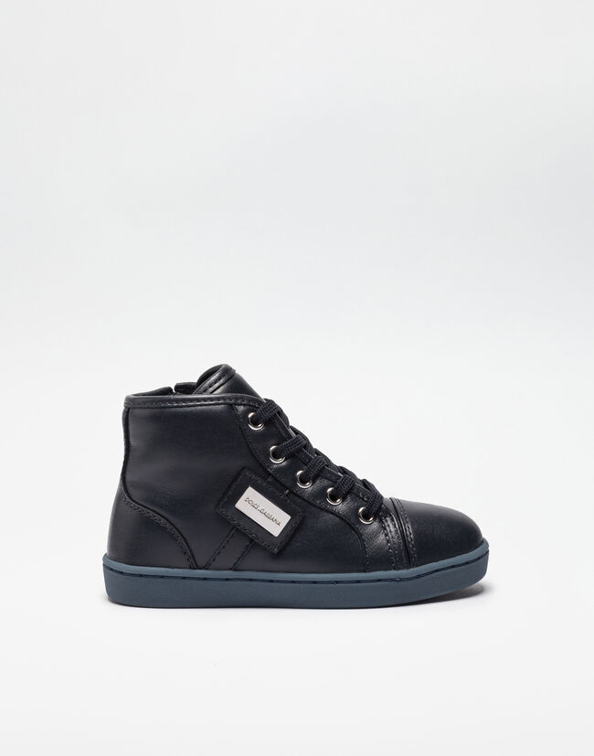 HIGH-TOP SNEAKERS IN NAPA LEATHER