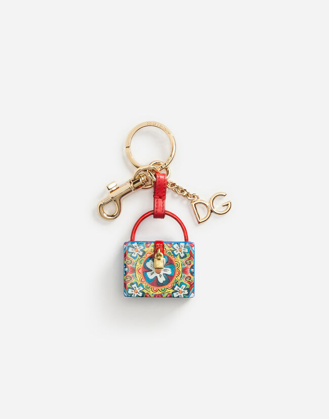 DOLCE BOX CHARM KEY RING