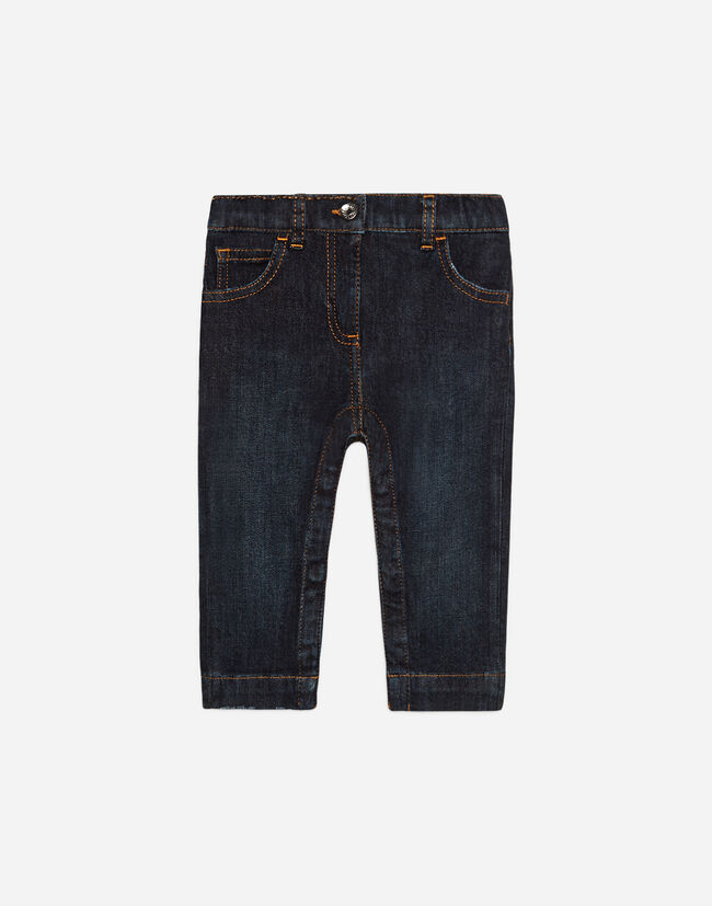 Dolce & Gabbana SLIM FIT DENIM JEANS