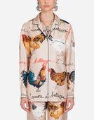Dolce&Gabbana PRINTED SILK SHIRT