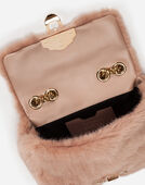 LUCIA SHOULDER BAG IN FAUX FUR