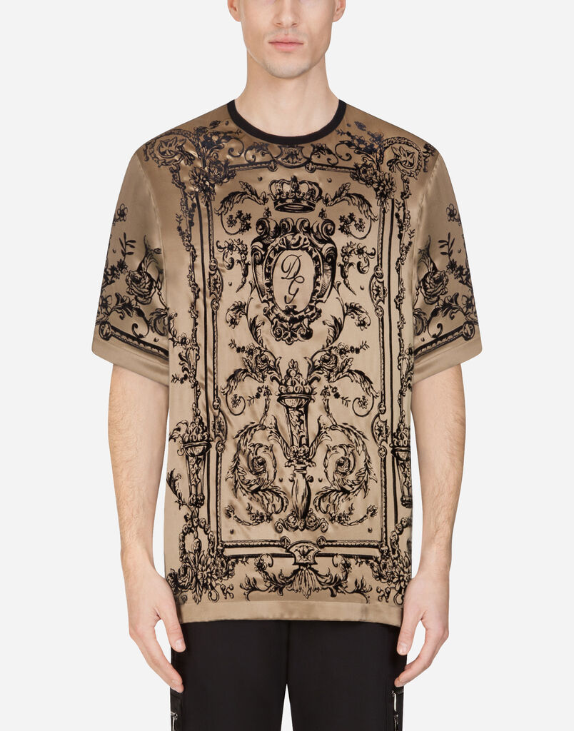 592257be2 T-shirts and Polo for Men   Dolce&Gabbana