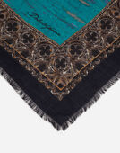 Dolce&Gabbana PRINTED CASHMERE AND SILK SHAWL