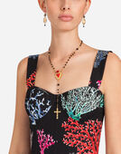 ROSARY NECKLACE WITH HEART