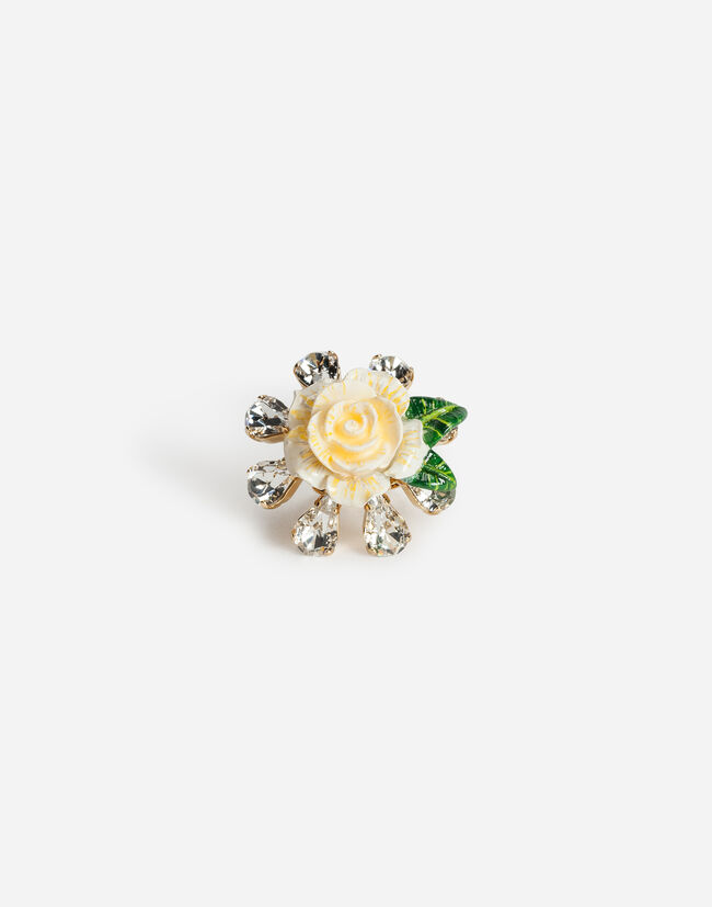 Dolce & Gabbana RING WITH ROSE