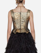 Dolce & Gabbana JACQUARD BUSTIER